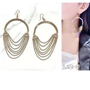 Just In 🎉Long Tassel Crystal Drop Earrings